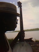 Contemplating Boatmen on the Mississippi