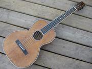 No-name mahogany guitar