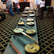 Original Boucher's at the 2012 Banjo Collector's Gathering