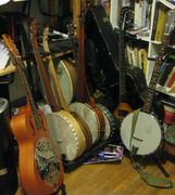 The Heap (way too many banjos)
