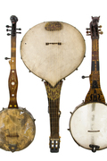 The minstrel banjo collection at the Hamamatsu City musical instrument museum
