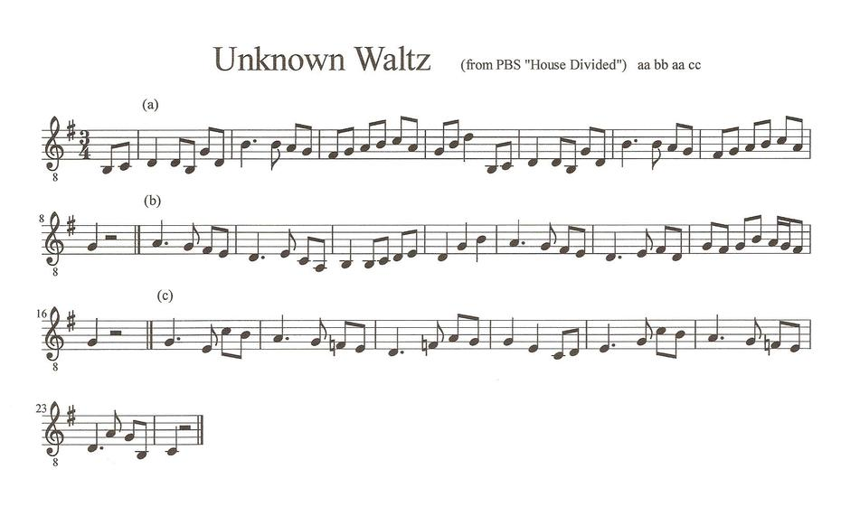 Help Identifying Waltz