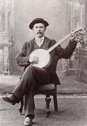 Banjo player, Walton, New York[1]