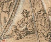 Sam Sweeney detail from Vizetelly sketch