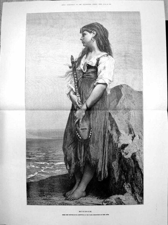 Gourd girl, ILN, 1878