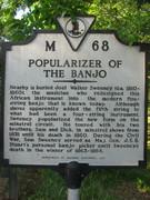 Sweeny marker on Rt 24 near Appomattox River