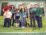 Modern Family season 1 promo 8x10