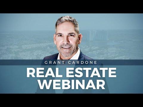 LIVE Real Estate Webinar by Grant Cardone