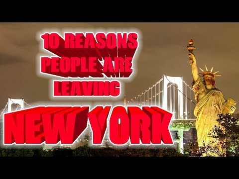 Top 10 reasons people are leaving New York. #NewYork