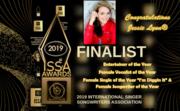 Jessie Lynn - ISSA Award Show - August 3, 2019