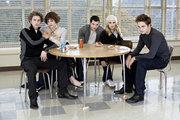 Cullens at school
