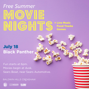 BLACK PANTHER - Free Outdoor Movie and Food Truck Fun at Baldwin Hills Crenshaw