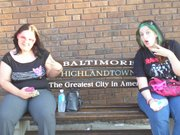 In Baltimore with Jamie