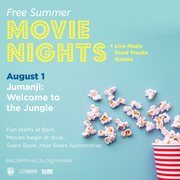 Free Outdoor Movie and Food Truck Fun at Baldwin Hills Crenshaw