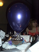 """Ashley and a """"hot air balloon"""""""