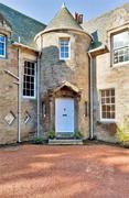 Front Door of Cramond House