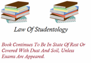 Law Of Studentology
