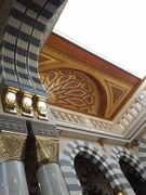 latest Madinah pic 2 opening of roof