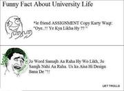 Funny Fect About Vu Students :P