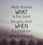 *Allah Knows*