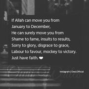 Faith On ALLAH <3