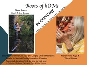 Roots of hOMe,  Thanksgiving Benefit Concert to End Homelessness