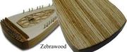 Omega Strings Psaltery in Zebrawood