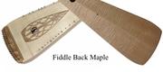 Omega Strings Psaltery in Fiddle Back Maple