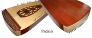Omega Strings Psaltery in Padauk