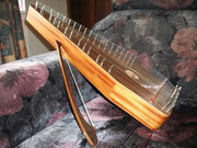 Bowed Psaltery and Bow