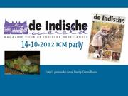 14-10-2012 ICM party door @Berry Grondhuis
