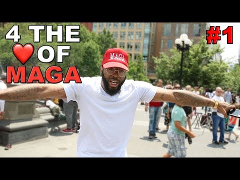 4 THE LOVE OF MAGA #1 - KINGFACE TAKES OVER WASHINGTON SQUARE PARK