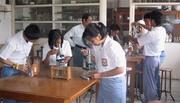 Students in a  Christian Secondary School of Yogyakarta