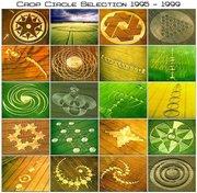 various crop circles