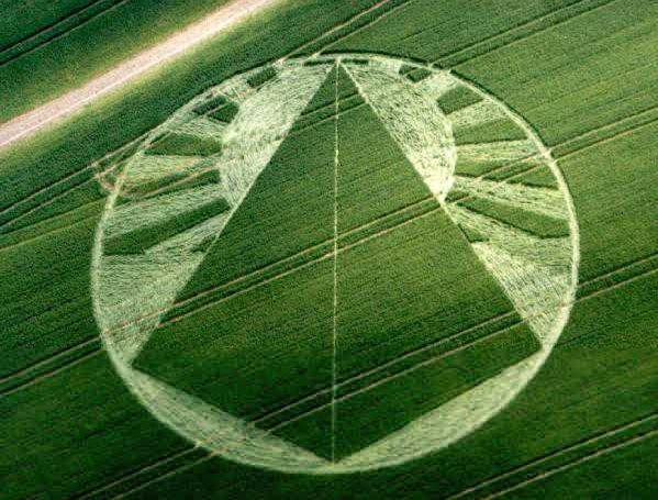 new dawn crop circle