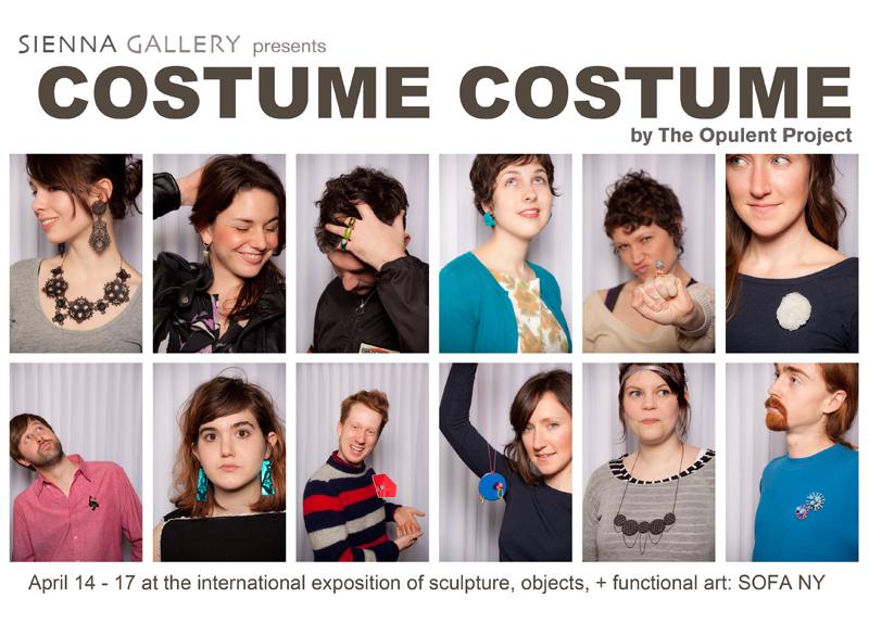 Sienna Gallery Costume Costume card