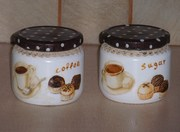 Βαζάκια για ζάχαρη και καφέ