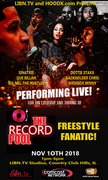 The Record Pool LIVE Video Taping 11/10/2018