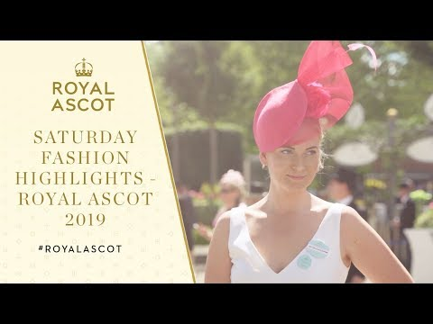 Saturday Fashion Highlights | Royal Ascot 2019