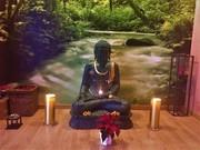 Buddha im Yogastudio Luzern