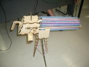 Laser cut working model