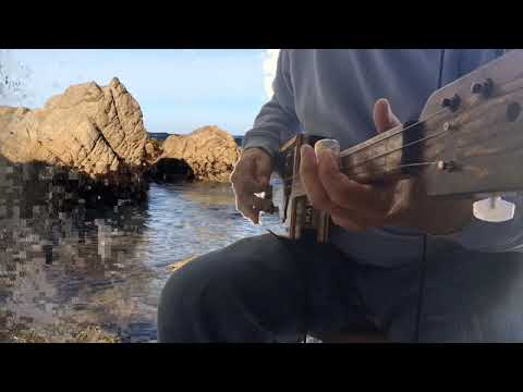 Cigar Box Guitar/Surfing The Partagas Blues