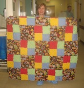 Lori's quilt May 2007