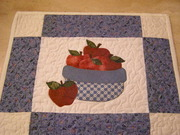 Bowl of Apples Wallhanging