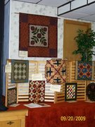 2009 quilt show my display