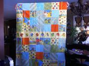 Baby Boy Quilt for new baby