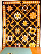 Black and Orange Sampler