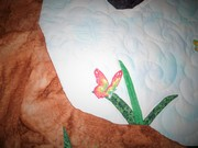 Shadow quilted butterfly