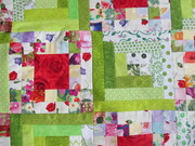 Quilt #156 -The Big Art Party Goes Green