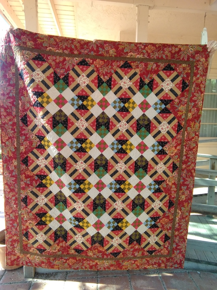 Quilt from Primitive Quilts and Projects Magazine